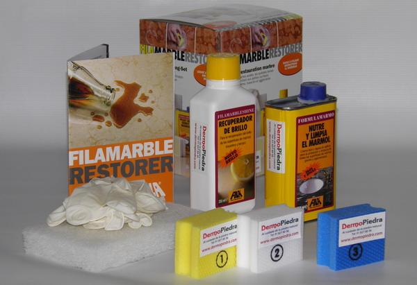 Kit restaurador for Marmol significado