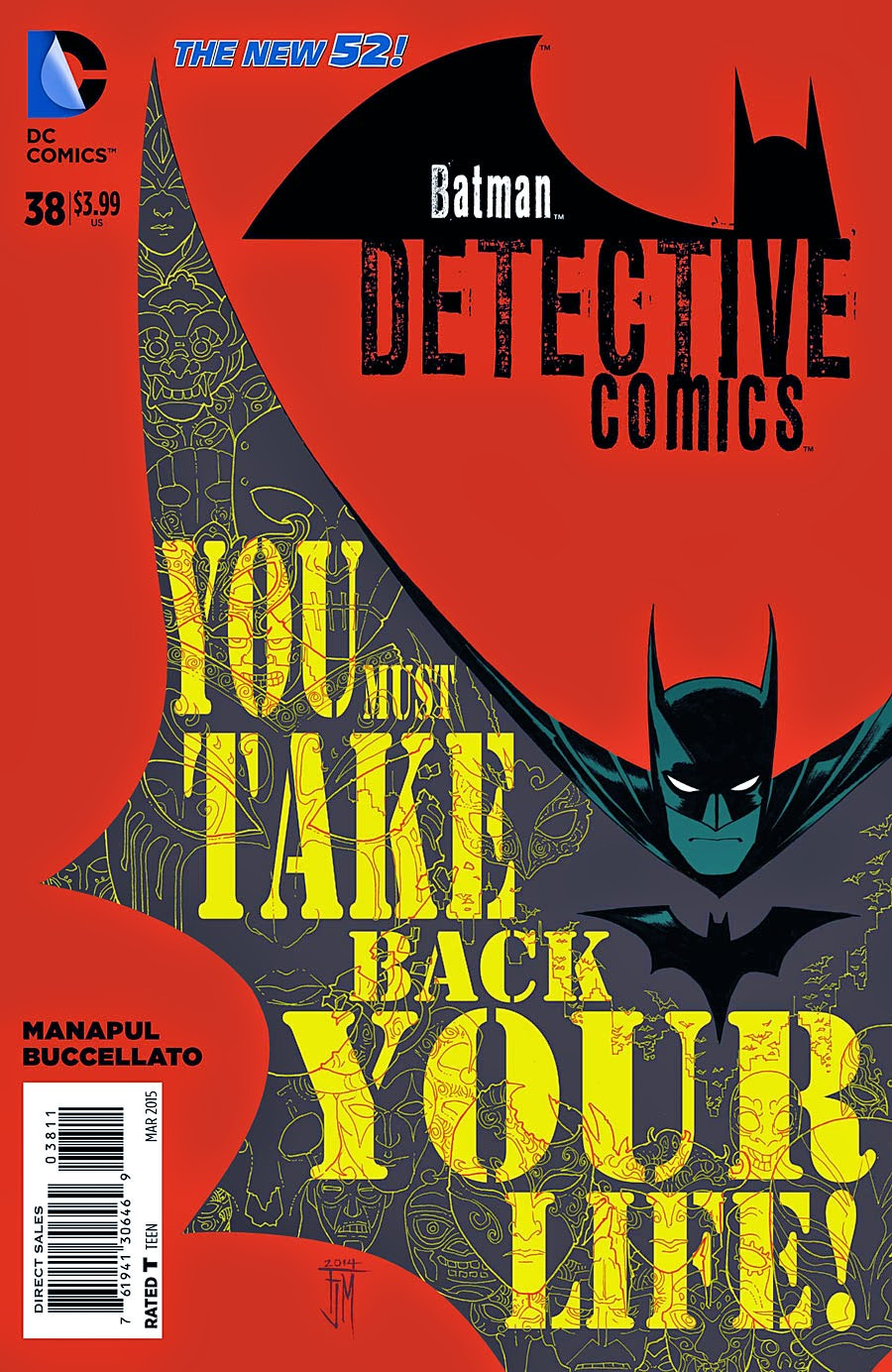 MAN OF BRONZE: PREVIEW DETECTIVE COMICS # 38