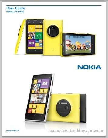 Nokia Lumia 1020 Manual Cover