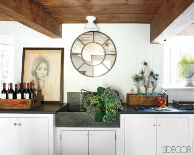Kitchen of the week industrial sinks in the kitchen an interior design Elle home decor pinterest