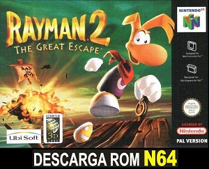 Rayman 2 - The Great Escape ROMs Nintendo64 Español