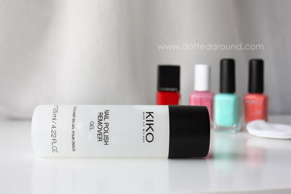 Kiko remover gel