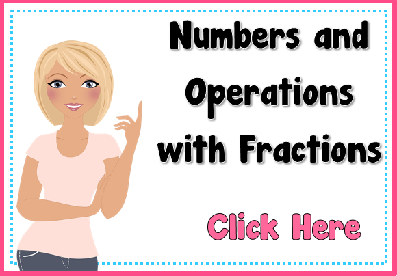 Teacher's Take-Out: Number & Operations with Fractions