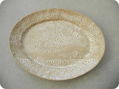 Recycled Noot - Oval plate