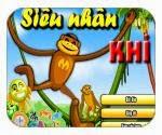 Siêu nhân khỉ, chơi game siêu nhân phieu luu hay