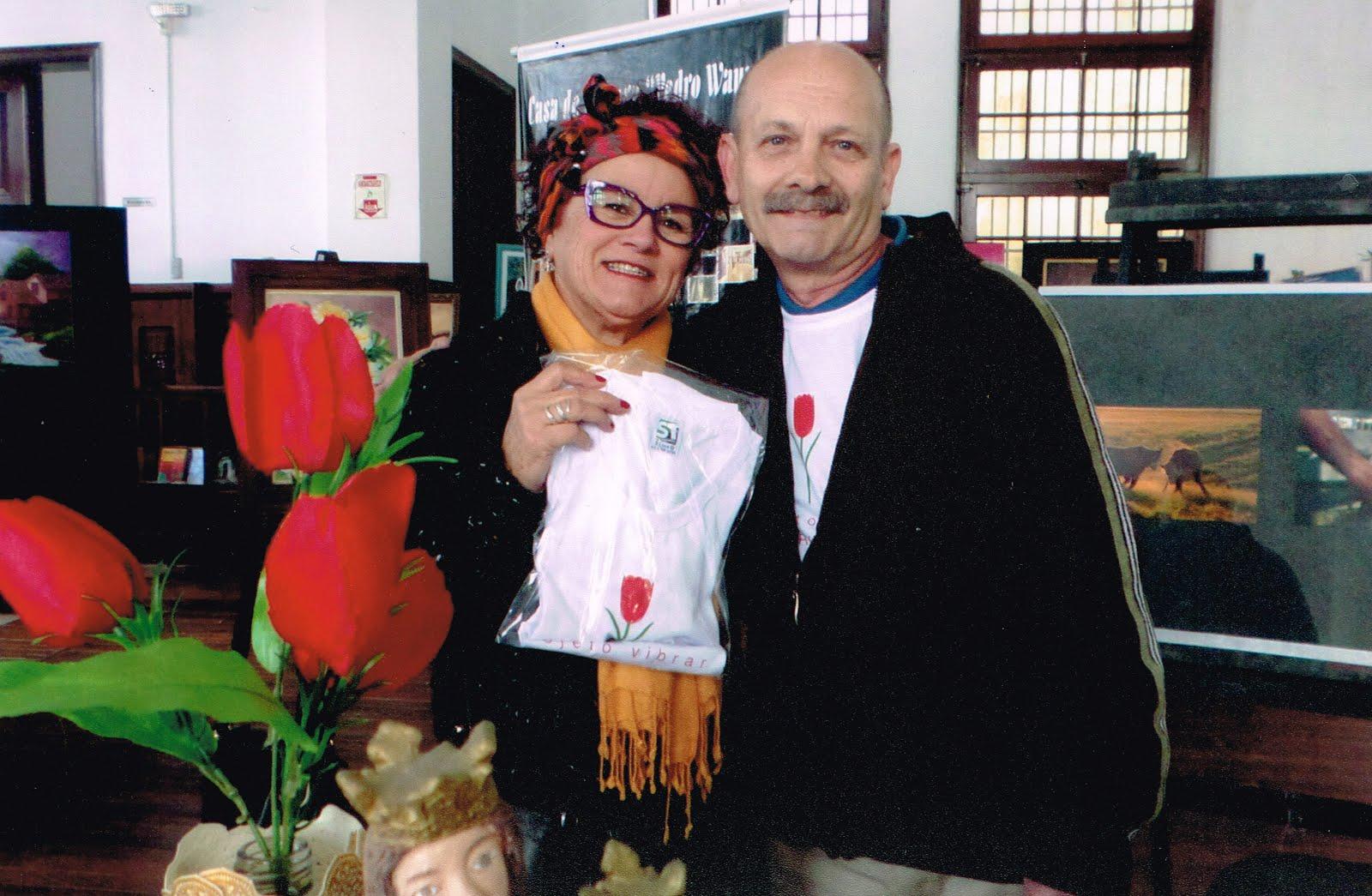 Vera Martinez e Manoel Ianzer