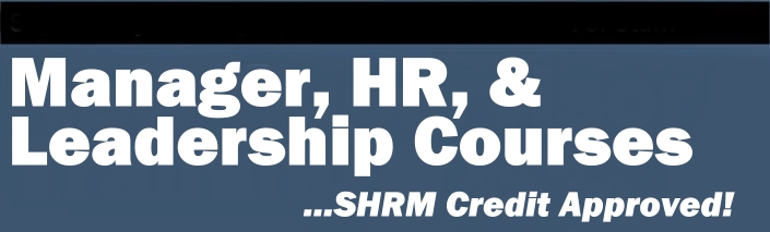 Management and Human Resources Courses Approved by SHRM