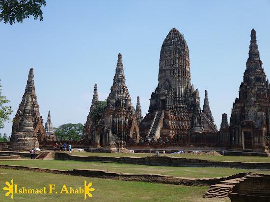 Wat Chaiwatthanaram in Ayutthaya Historical Park