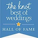 REV. BARBARA LODGE IS INDUCTED INTO THE KNOT BEST OF WEDDINGS HALL OF FAME  - 2015