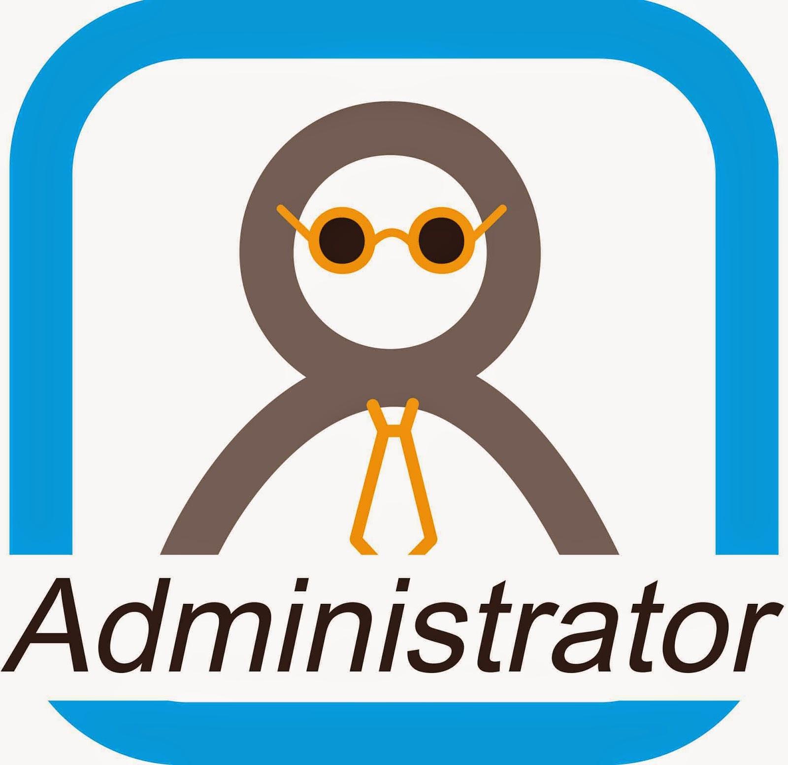 admin Blogspot