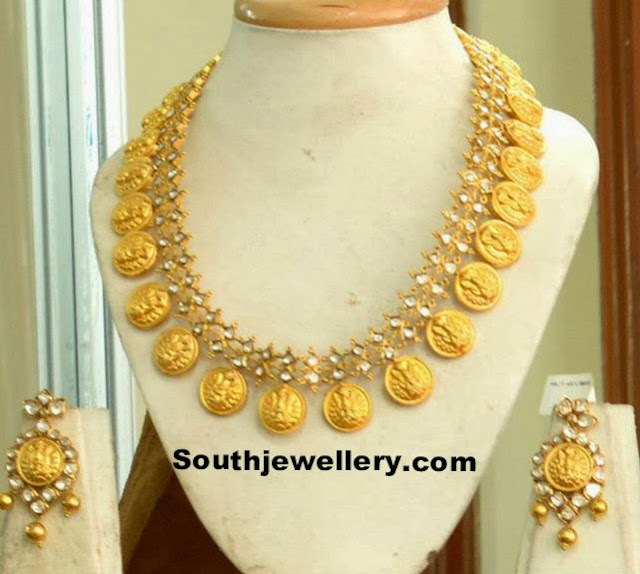 lakshmi kasu necklace