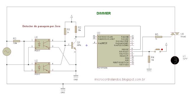 Projeto 22: Dimmer utilizando PIC