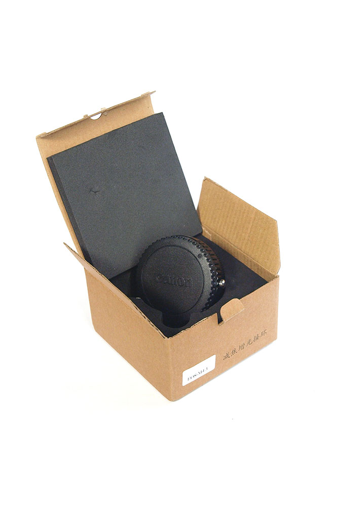 Unboxing of Focal Reducer 0.72x with EF mount for Micro Four Thirds MFT M4/3 - step by step