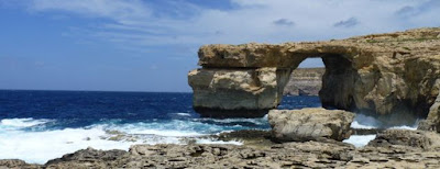 Blue Window, Azure Window o Ventana Azul, isla de Gozo, Malta.