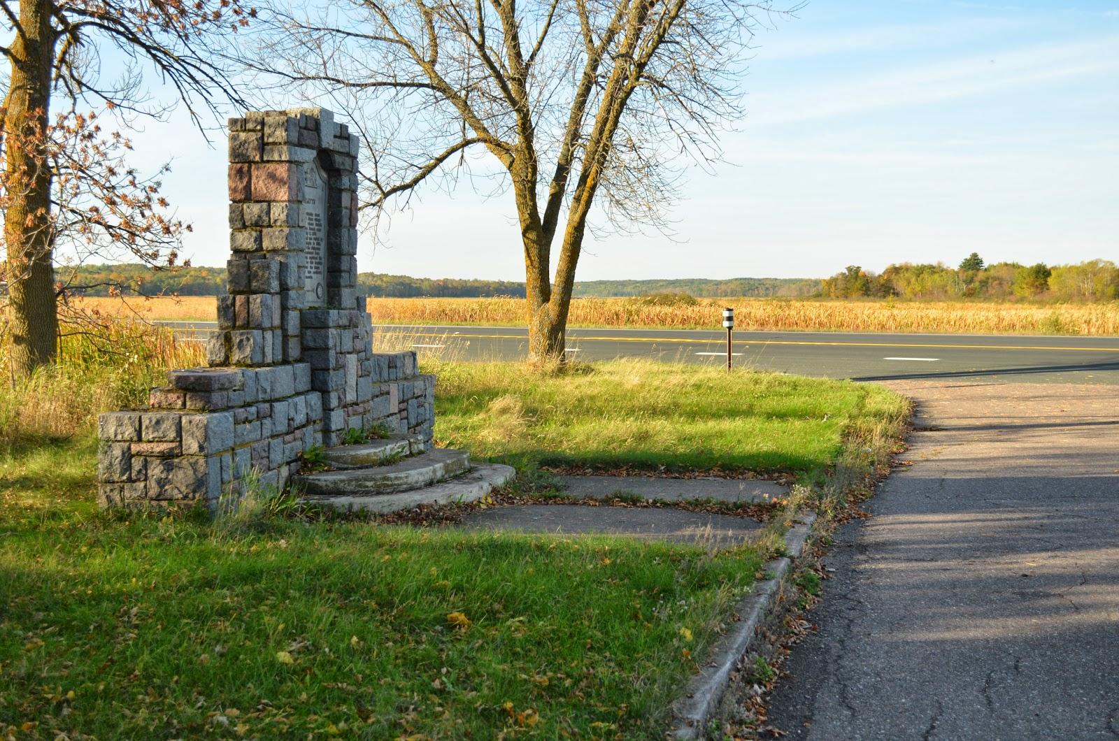 vineland historical marker oct 2013 hwy 169 in background