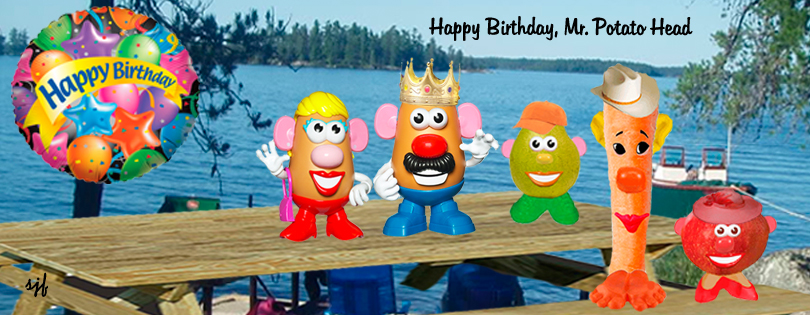 Wellness News at Weighing Success April 30 Mr Potato Head – Mr Potato Head Birthday Card