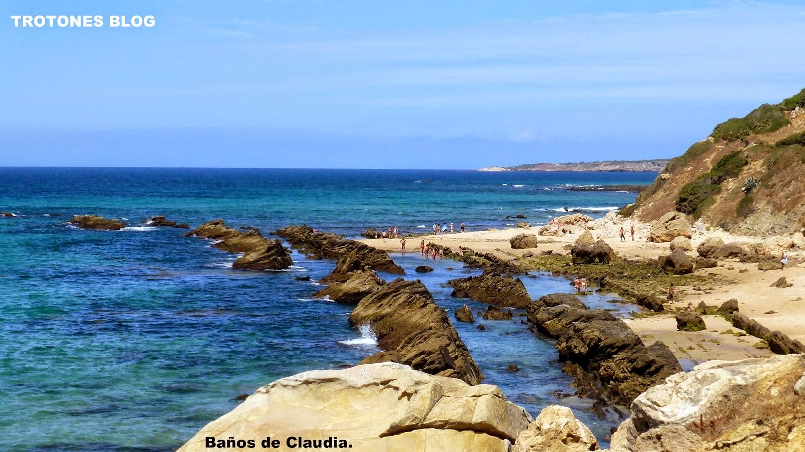 Trotones blog vereda de la reginosa punta paloma ba os de for Piscinas naturales bolonia cadiz