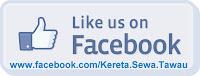 Kereta Sewa Tawau J3 facebook fanpage