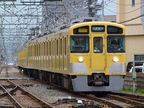 西武新宿線 通勤急行 西武新宿行き 2000系