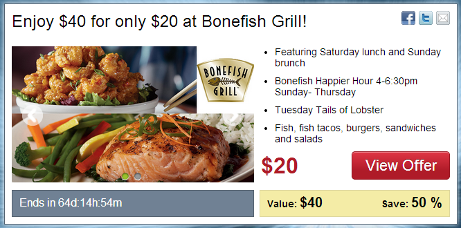 Bonefish grill coupons 2018