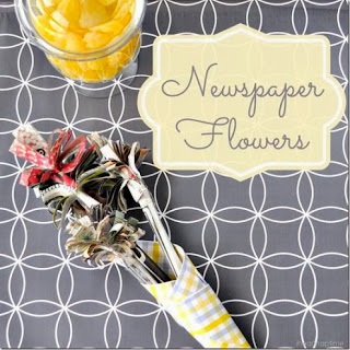 bunga koran bekas kupu kupu koran bekas bunga koran bekas lampion ...