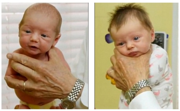 "Cara untuk hentikan bayi dari menangis dengan segera, Teknik ""The Hold"""