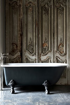 to da loos vintage black painted ball and claw foot bathtubs. Black Bedroom Furniture Sets. Home Design Ideas