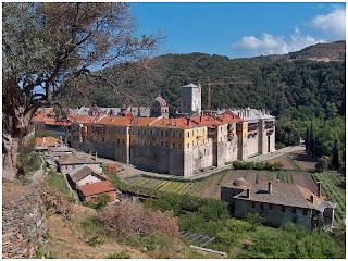 Sveta Gora. Manastir Iviron.