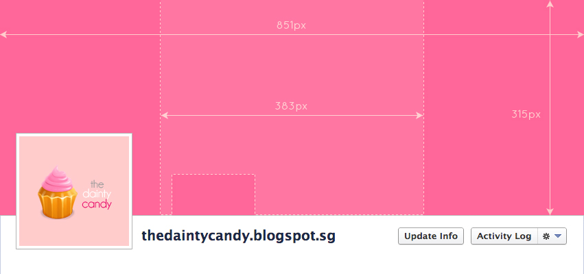 Facebook covers the dainty candy try it yourself here the dimension to save your final file 851px x 315px here are a few facebook covers that i did solutioingenieria Images