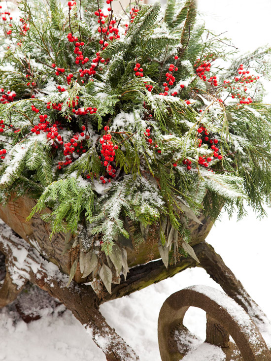 Country Christmas Decor Outside : Ginnie s gems outdoor christmas decorations