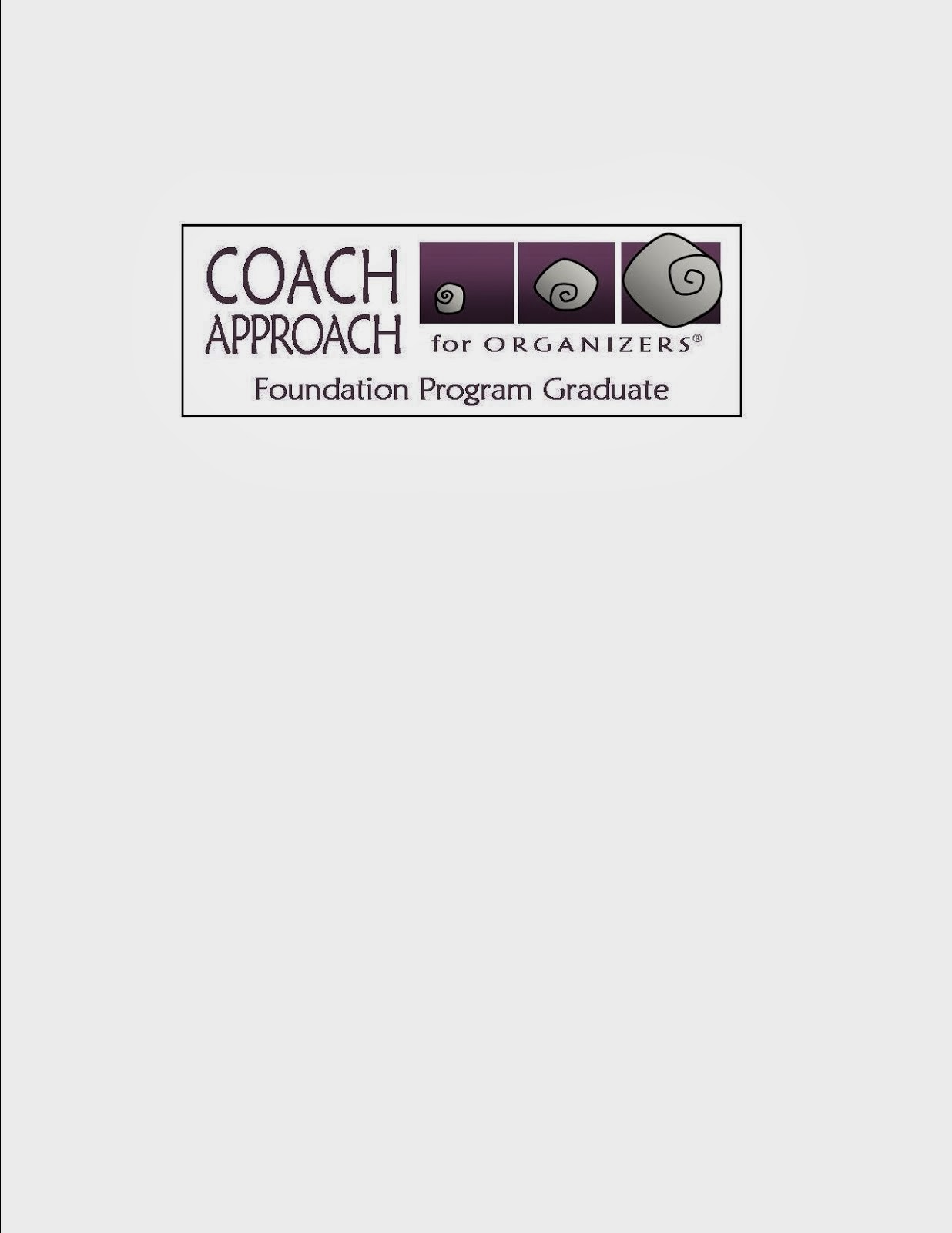 Coach Approach for Organizers