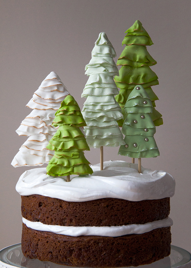 Images Of Christmas Tree Cake : Top 4 Last Minute Christmas Tree Topper Ideas!!! - Jessica ...