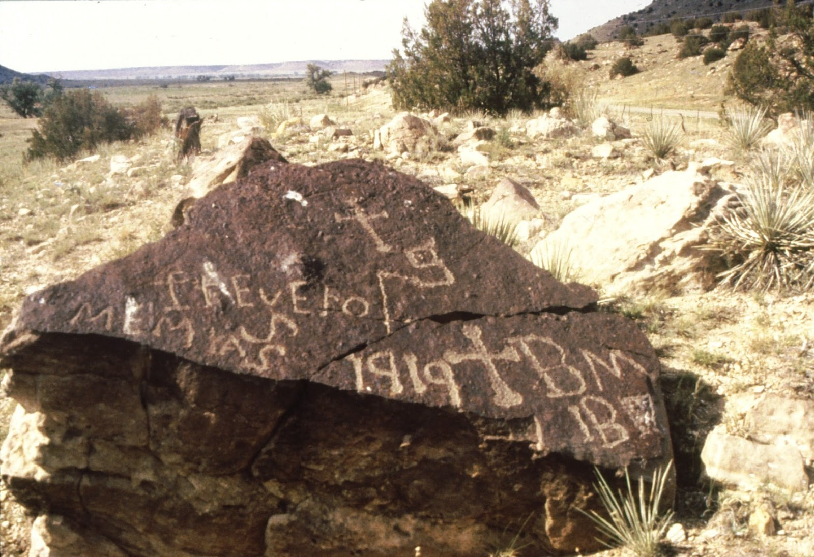 Rock Art Blog Native American And Hispanic Cross Symbols