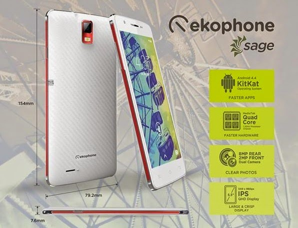 Ekotek Ekophone Sage Specs, Price and Availability