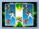 Ben 10 Find Differents เกมจับผิดภาพ