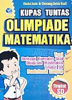 AJIBAYUSTORE  Judul Buku : Kupas Tuntas Olimpiade Matematika SD Pengarang : Abdul Aziz & Danang Setia Budi Penerbit : ANDI