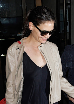 Katie Holmes Birthday on Katie Holmes  Birthday Weekend In New York With Tom   Pp Com