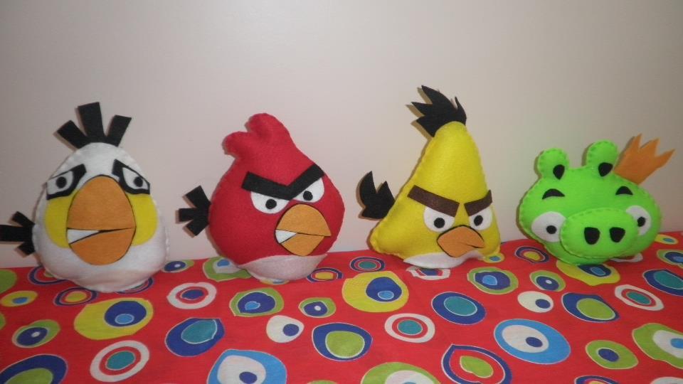 Centro De Mesa Dos Angry Birds