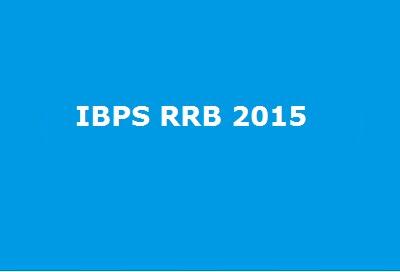 IBPS RRB 2015