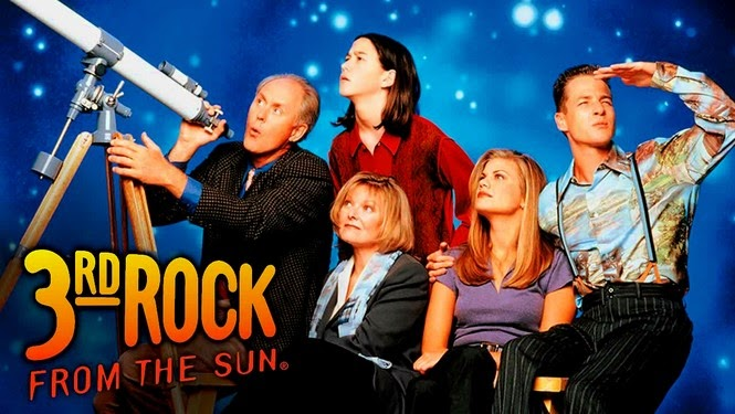 3rd rock from the sun tv show best sit com comedy scifi aliens
