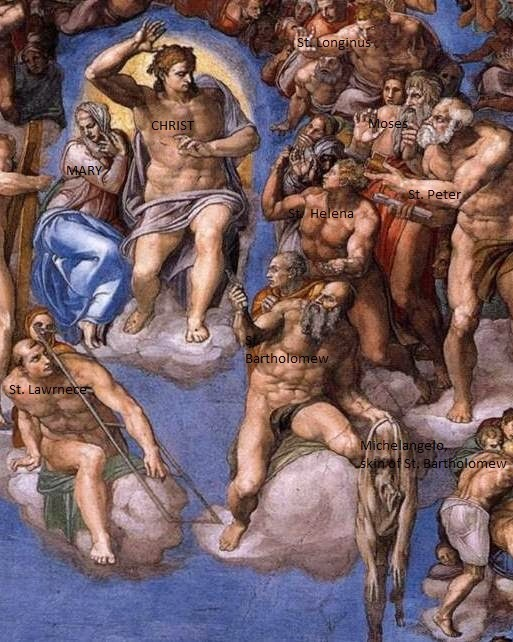 michelangelo last judgement