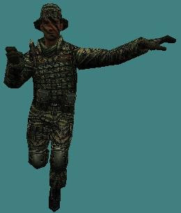 Download SAF Scout Character Skin for Counter Strike 1.6 and Condition Zero