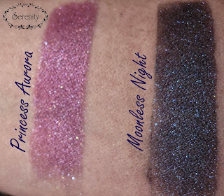 Chequered Lily Apothecary Swatch Princess Aurora Moonless Night