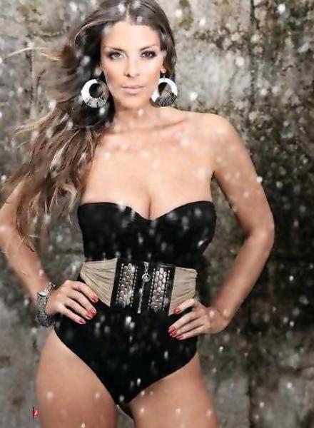 Fotos de Verónica Larrenne na Revista J