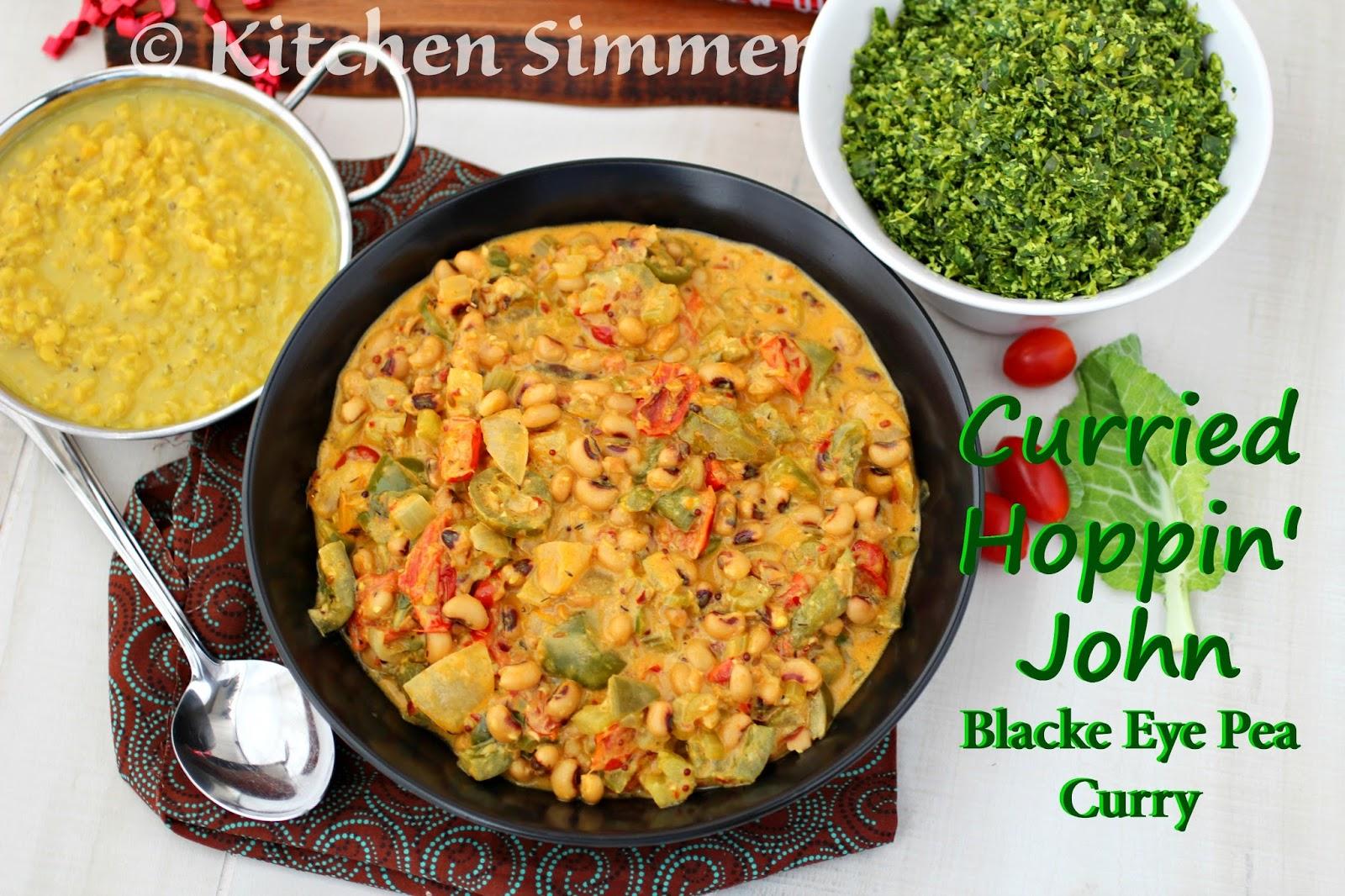 pea curry recipe