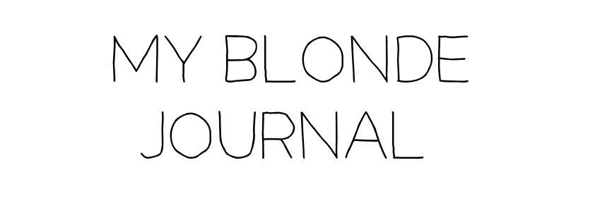 My Blonde Journal