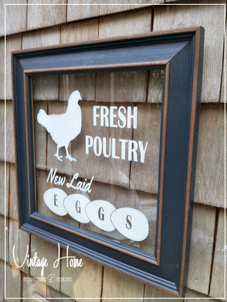 Fresh Eggs Poultry Sign
