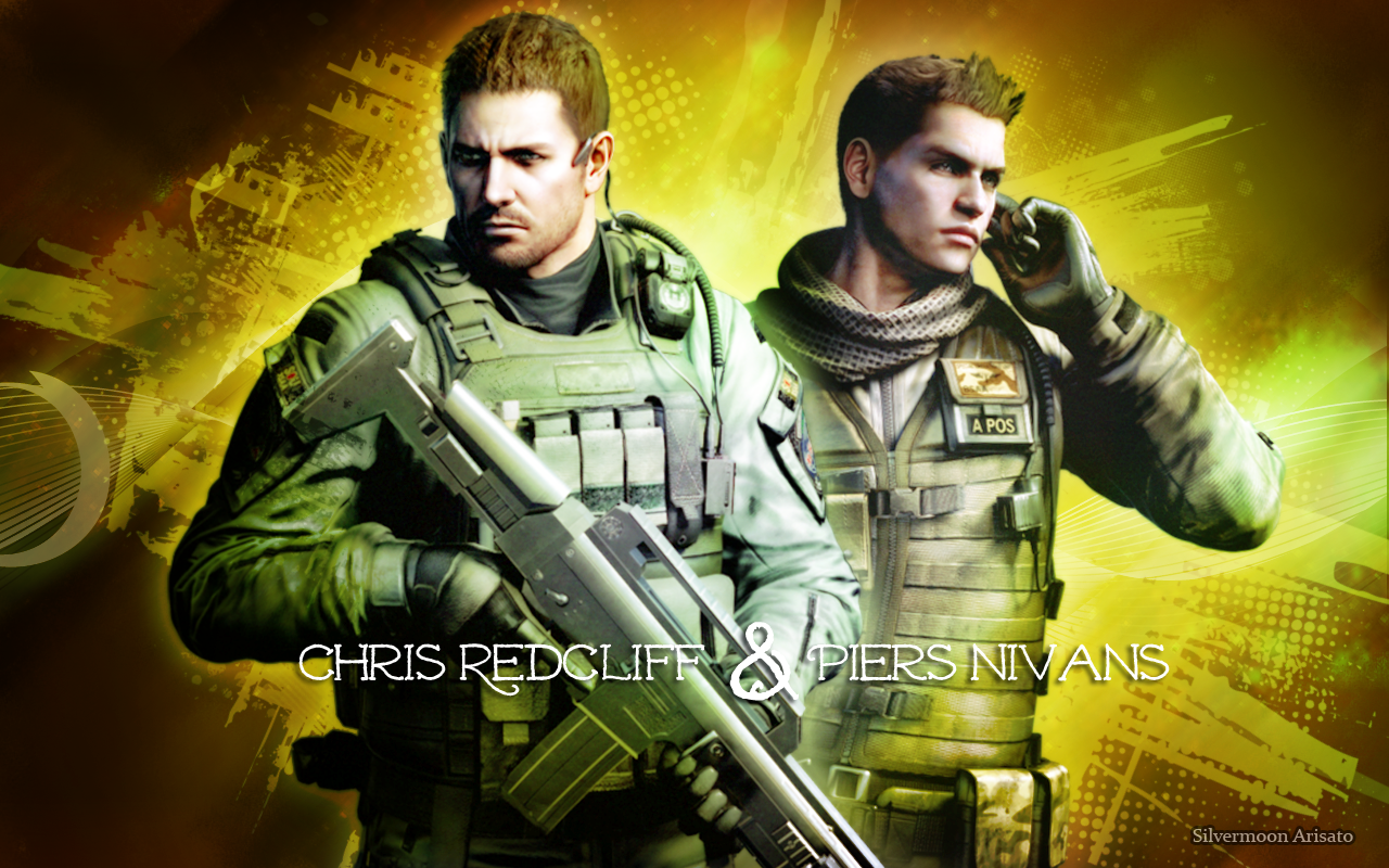 Chris Redfield  x Piers Nivans Gay