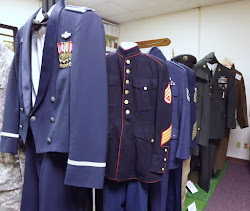 New items displayed in the Veterans Room
