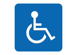 download Logo Wheelchair accessible Vector